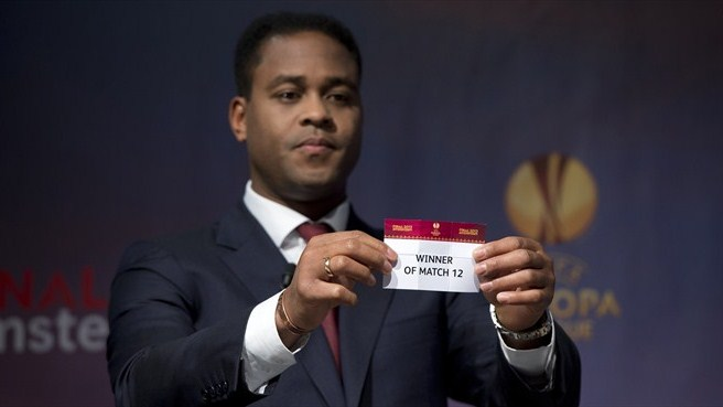 Patrick Kluivert (UEFA Europa League round of 16 draw)