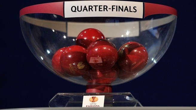 UEFA Europa League quarter-final draw