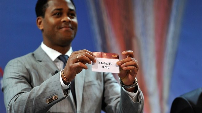 Patrick Kluivert (UEFA Europa League quarter-final draw)