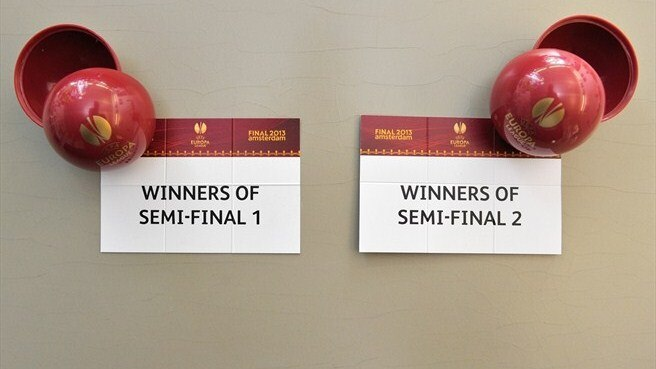 UEFA Europa League final draw balls
