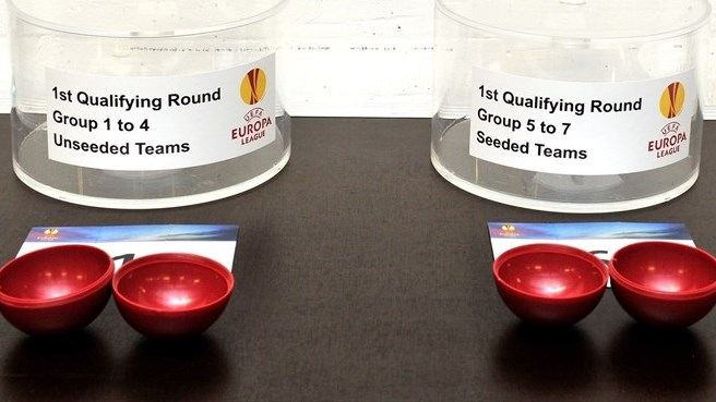 UEFA Europa League first qualifying round draw