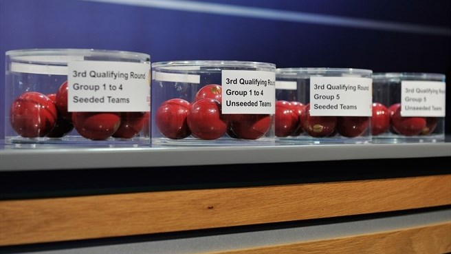 UEFA Europa League third qualifying round draw