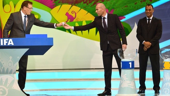 Zinédine Zidane (FIFA World Cup draw)