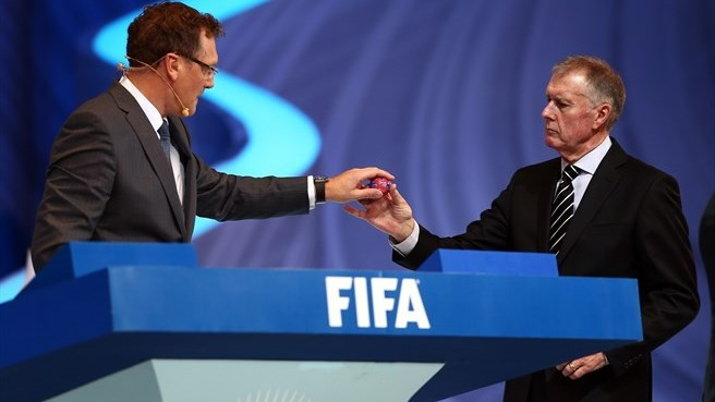 Sir Geoff Hurst (FIFA World Cup draw)