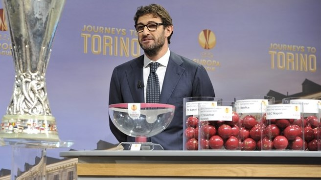 Ciro Ferrara (UEFA Europa League round of 32 & 16 draw)