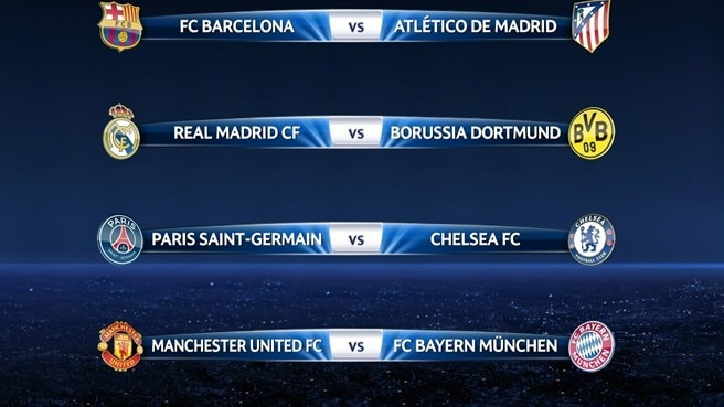 Uefa champions league last results