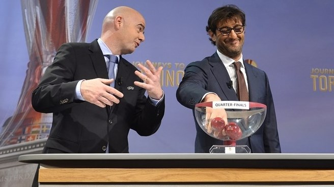 Ciro Ferrara (UEFA Europa League quarter-final draw)