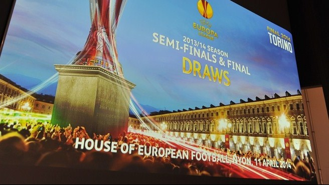 UEFA Europa League semi-final draw