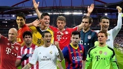 The 2013/14 UEFA Best Player in Europe Award shortlist