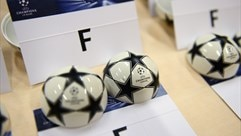 UEFA Champions League group stage draw balls