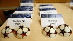 Chelsea FC and FC Porto draw slips