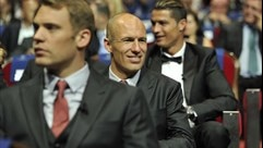 Manuel Neuer, Arjen Robben & Cristiano Ronaldo (UEFA Champions League group stage draw)