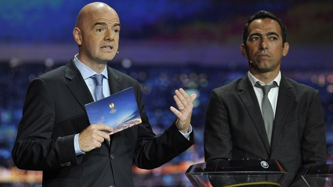 Gianni Infantino (UEFA Europa League group stage draw)