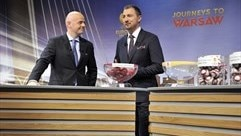 Jerzy Dudek (UEFA Europa League round of 32 draw)