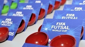 FIFA Futsal World Cup play-off draw live on Friday