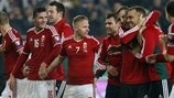 Play-off winners: Hungary, Republic of Ireland, Sweden and Ukraine