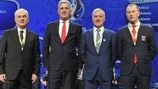 Group A coaches (UEFA EURO 2016 final tournament draw)