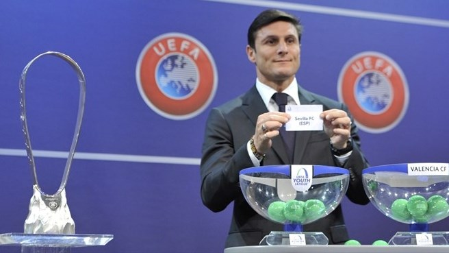 UEFA Youth League play-off draw