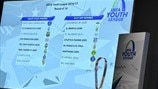 UEFA Youth League knockout stage draw