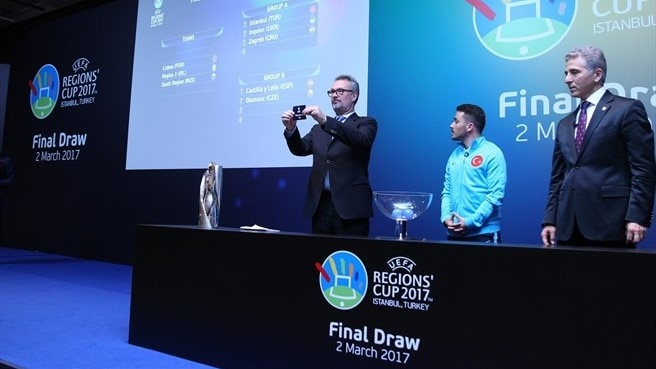 Tenth UEFA Regions' Cup: final tournament draw
