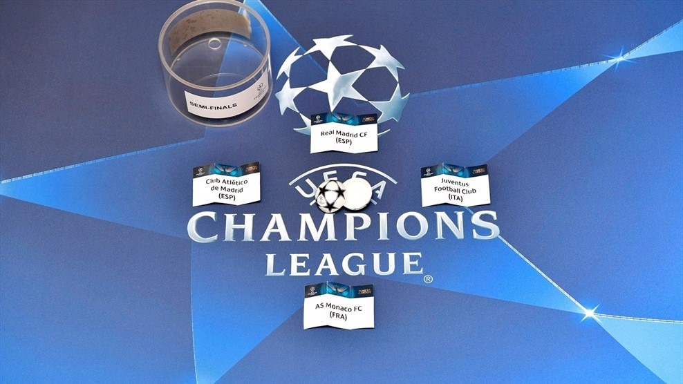 Champions League Facebook: All You Need To Know: Champions League Semi-final Draw