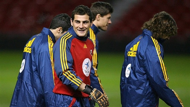 Casillas calls for Spain unity