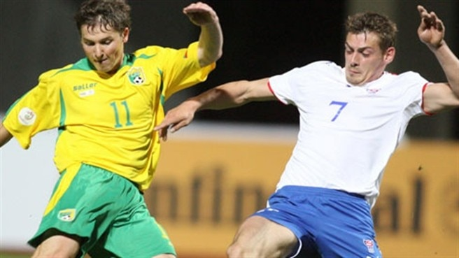 Lithuania lifted by Faroese success