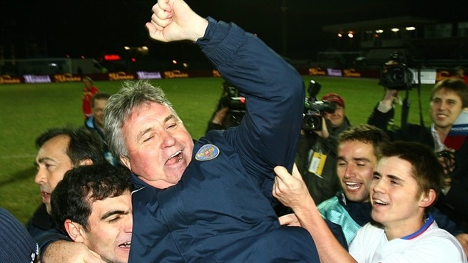 How Hiddink transformed Russia