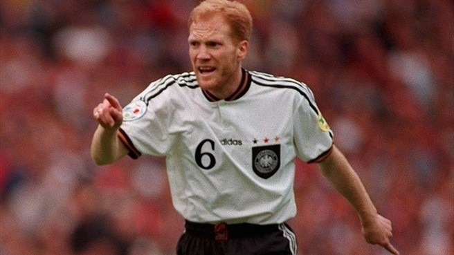 When Sammer swept to EURO '96 success