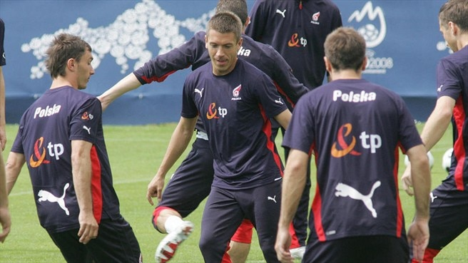 Poland camp awash with high spirits