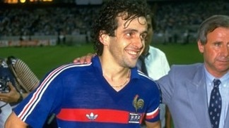 Platini reflects on France's first success in 1984