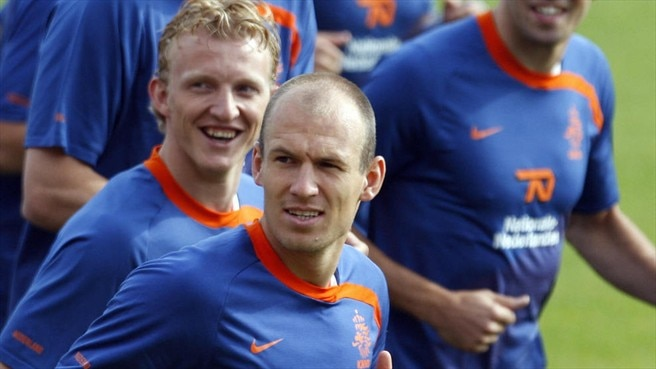 Flying Robben thrilled with return