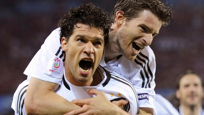 Ballack books Germany's last-eight place