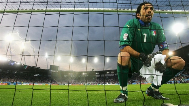 Buffon steers Italy in right direction