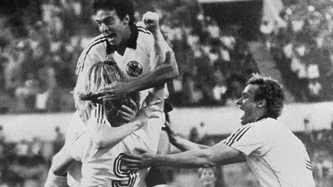 Hrubesch and West Germany double up in 1980