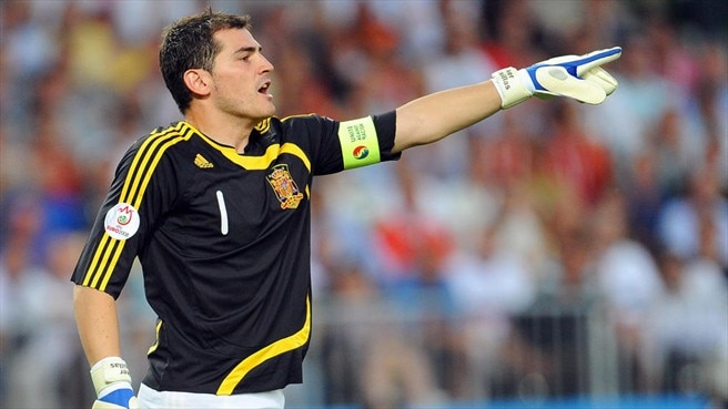 Casillas calls on Spain to seize chance