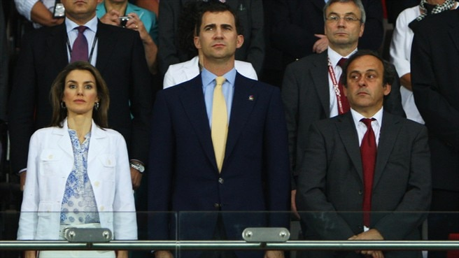 Spain receive royal approval in Vienna