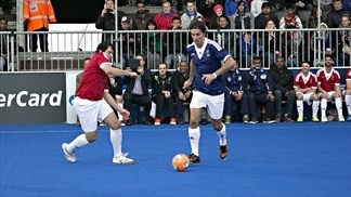 Futsal Day at the UEFA Champions Festival