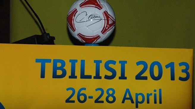 Tbilisi ticket sales and trophy tour begin