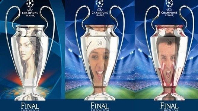 Get your UEFA Champions League trophy 'selfie'