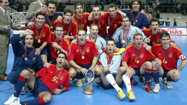 Spain back on top
