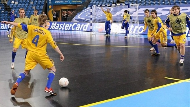 Ukraine warm-up