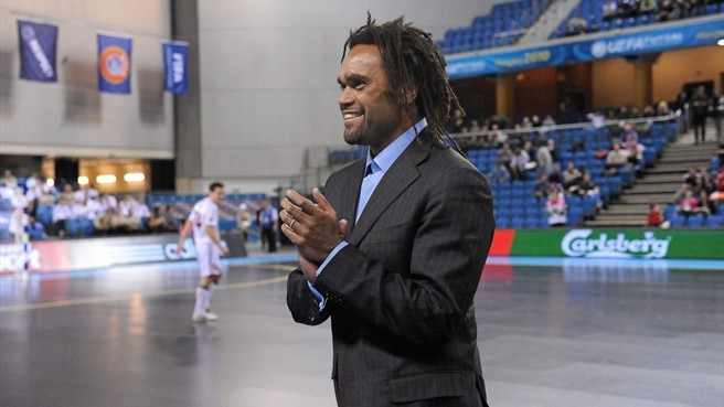 Karembeu thrilled by futsal show