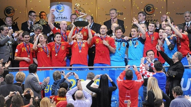 Spain still reign in new-look finals