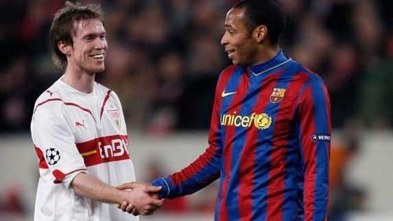 Hleb plots happy return to Camp Nou