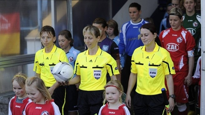 UEFA course for women refs
