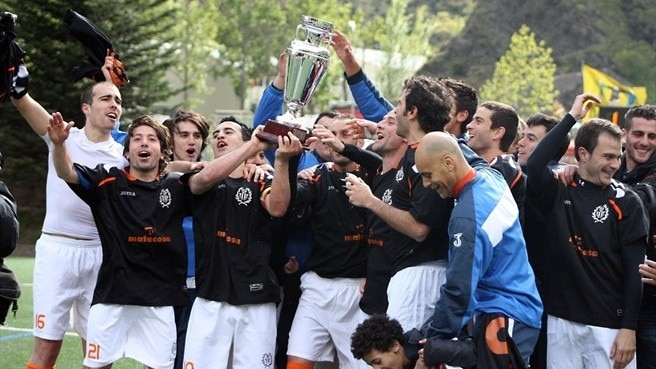 Late strike earns Sant Julià cup triumph