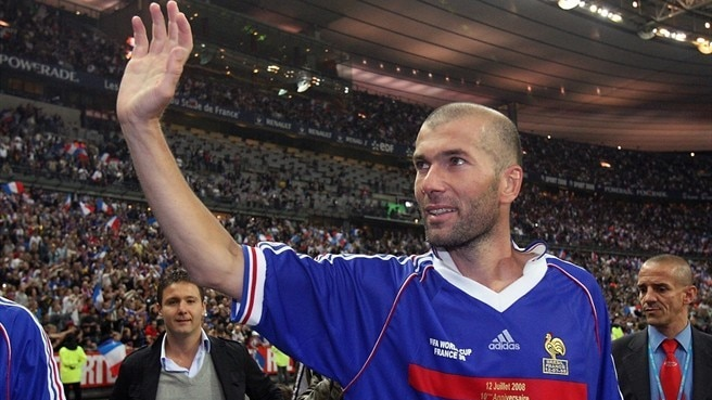 Zidane thrilled by France honour
