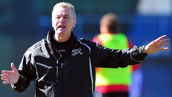 Hitzfeld out to spring Swiss surprise