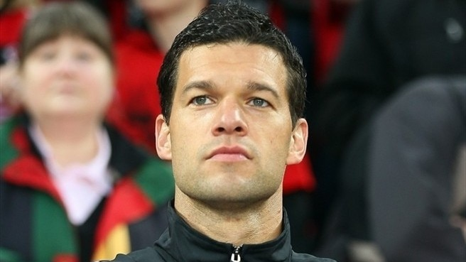 Ballack happy to be back at Leverkusen